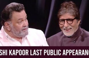 Rishi Kapoor Dies: His Last Public Appearance With Amitabh