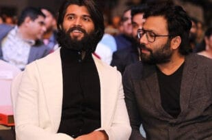 Vijay Deverakonda and Sandeep Reddy Vanga