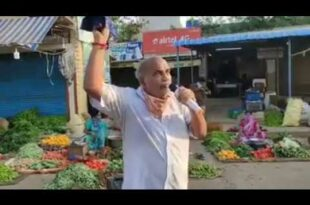 Viral Video: Man Educating the Vendor's in Funny Manner about Social Distancing.