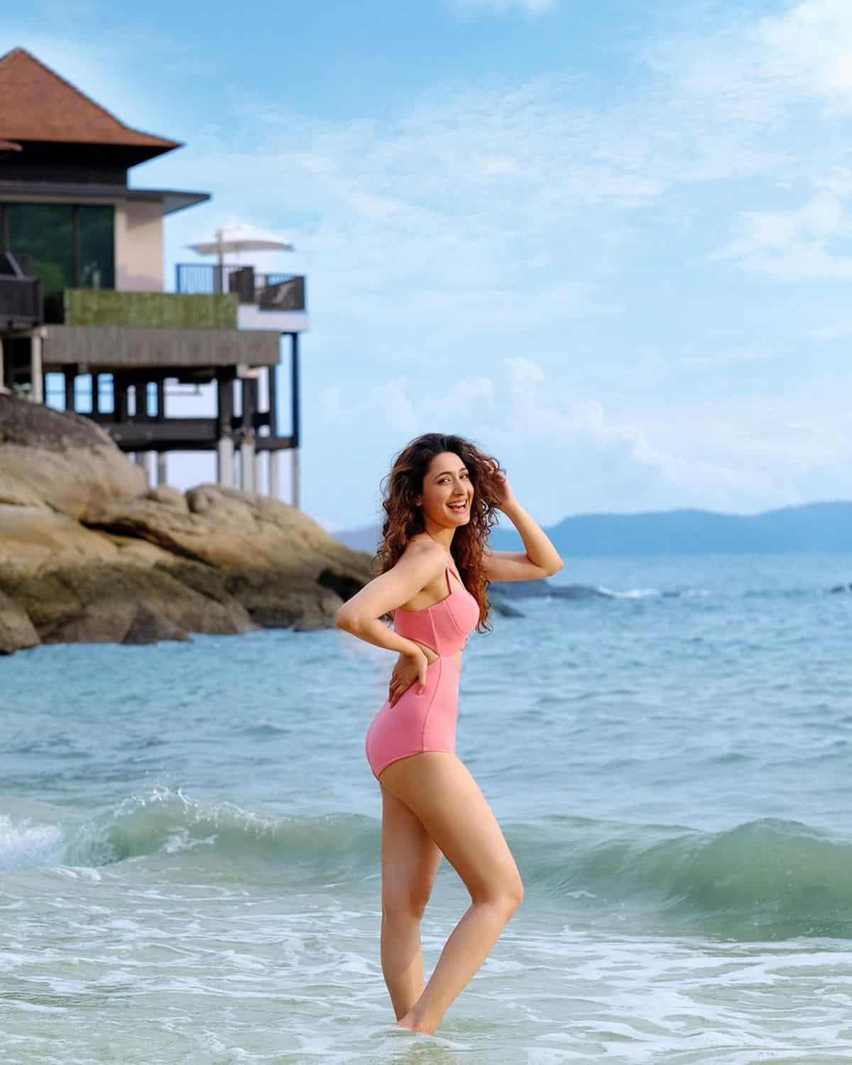 Pragya Jaiswal Shares Bikini Pics