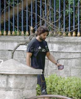 Pics: Allu Arjun & Sneha Jogging In Jubilee Hills