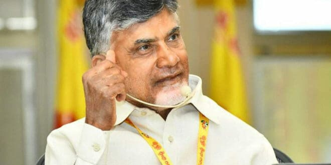 Land Acquisition Stinks Of Corruption: Naidu Writes To CS