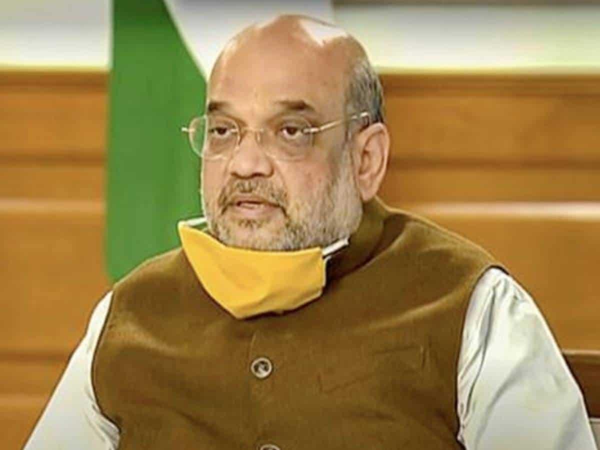 Amit Shah Corona