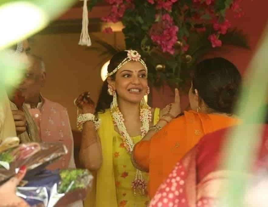 Pics: Kajal-Gautam Pre-wedding Festivities