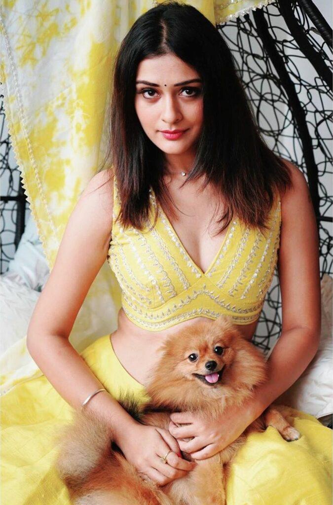 Pics: Payal Rajput Shines In Yellow Wear