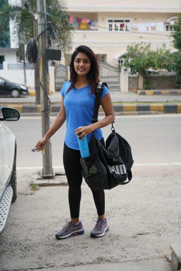 Pics: Eesha Rebba Snapped At Gym