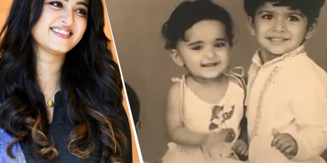 Anushka's Childhood Pic Is Irresistibly Cute - Gulte