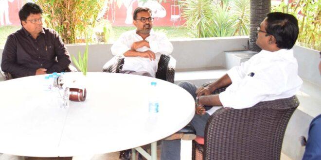 Telangana Minister To Host 'Acharya' And Team - Gulte