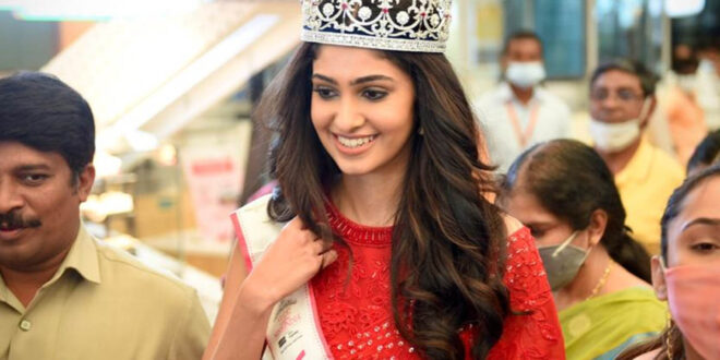 Will Think Of Films If I Get A Chance: Miss India Manasa - Gulte