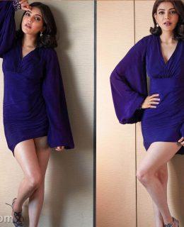 Pics: Kajal Is Back To Her Svelte & Slim Figure