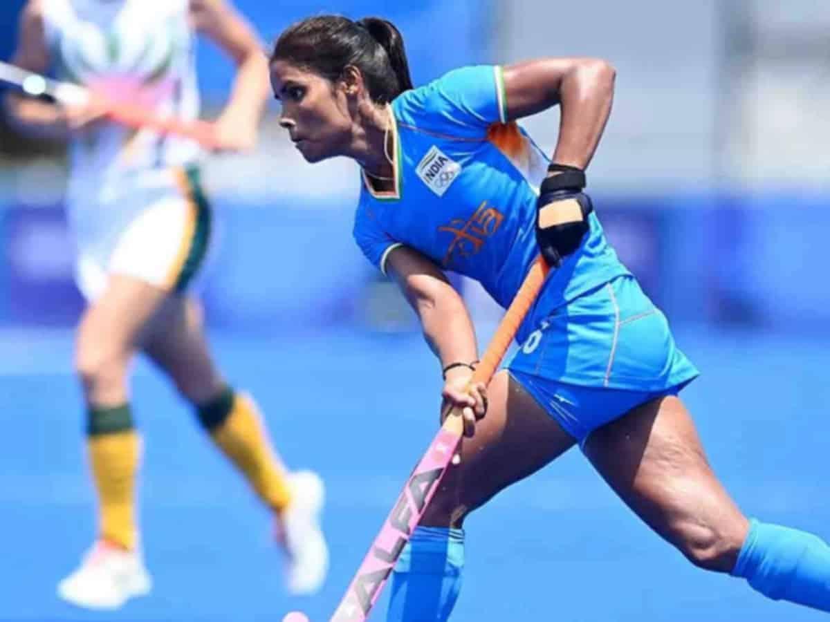 women Hockey Players of India Vandana Katariya KreedOn