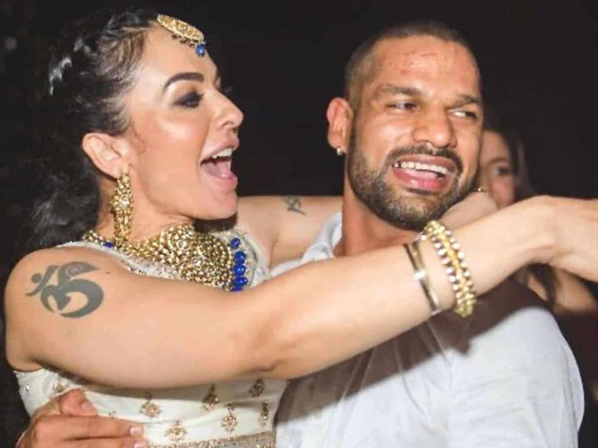 Shikhar Dhawan Divorces Wife Ayesha Mukerji -