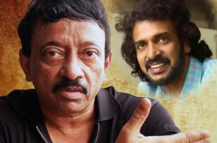 Director RGV and Hero Upendra