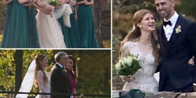 Bill gates Daughter Gets Married To Her Boyfriend