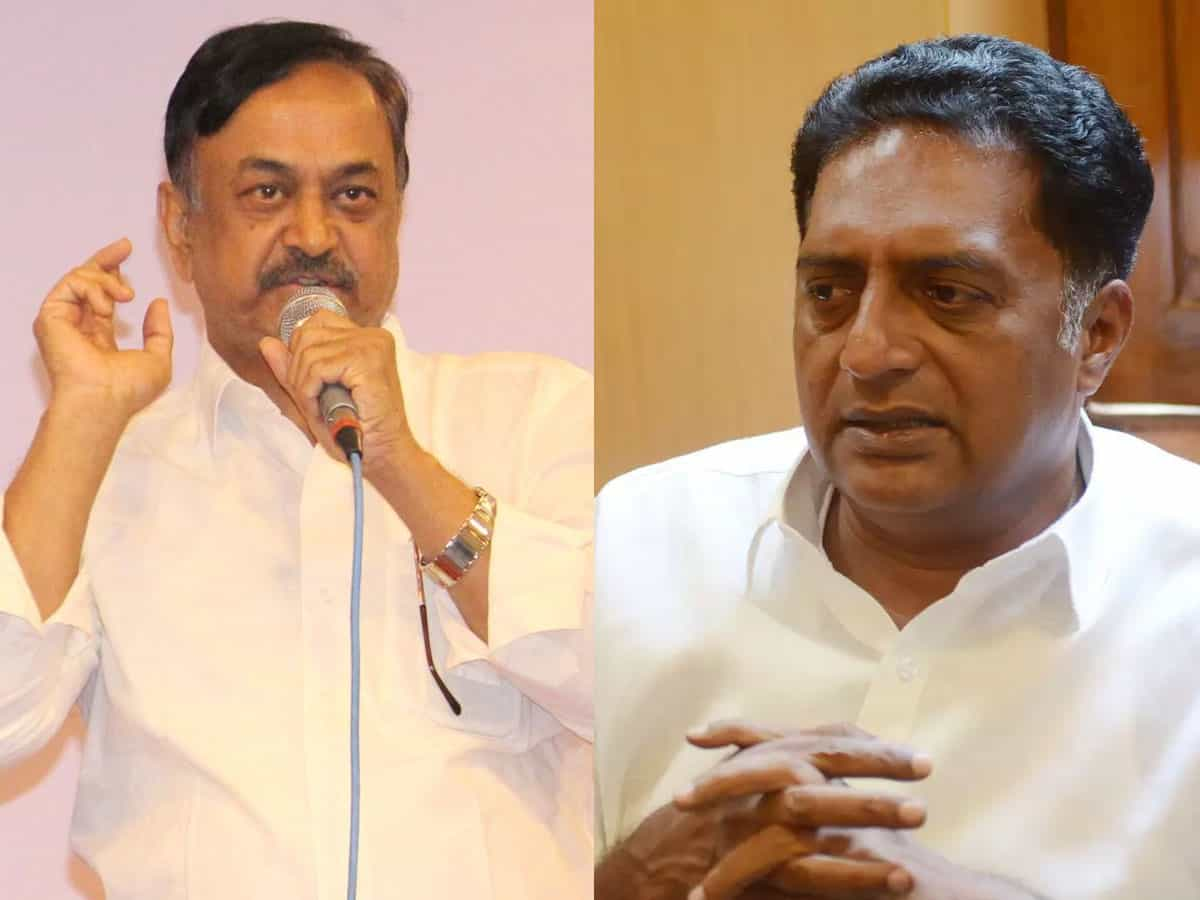 Trivikram Should Teach Telugu To Prakash Raj: CVL Narasimha Rao -