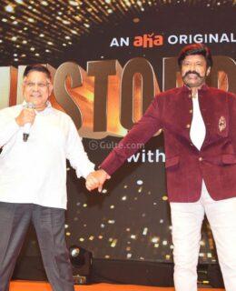 Balakrishna Unstoppable Talk Show Launch